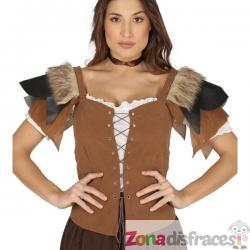 Chaleco medieval para mujer - Imagen 1