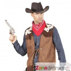 Chaleco de vaquero del oeste para hombre - Imagen 1