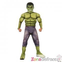 Disfraz de Hulk musculoso para niño - Imagen 1