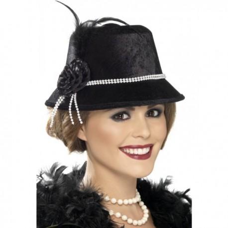 Sombrero elegante de los años 20 - Imagen 1