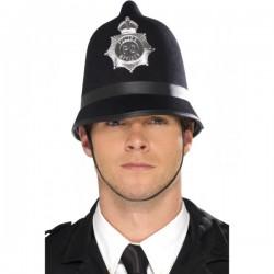 Sombrero de policía deluxe - Imagen 1