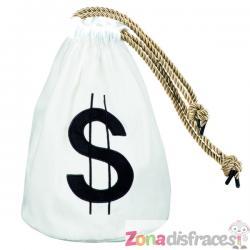 Bolso de ladrón con símbolo del dólar - Imagen 1