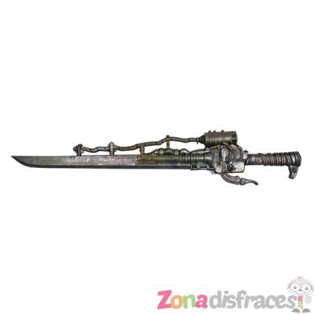 Pistola Steampunk con espada - Imagen 1