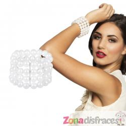 Brazalete de Cabaret con perlas - Imagen 1