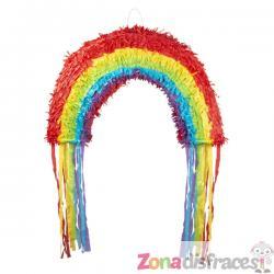 Piñata arcoiris - Imagen 1