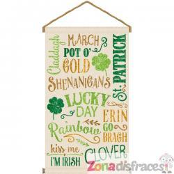 Cartel colgante Dia de San Patricio - Imagen 1