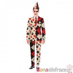 Traje Halloween de payaso Opposuits - Imagen 1