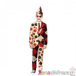 Traje Halloween de payaso Opposuits para niño - Imagen 1