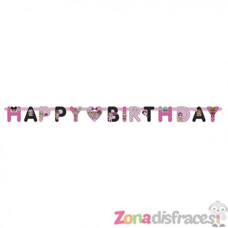 Guirnalda feliz cumpleaños LOL Surprise - LOL Friends - Imagen 1