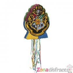 Piñata del escudo de Hogwarts Harry Potter - Hogwarts Houses - Imagen 1