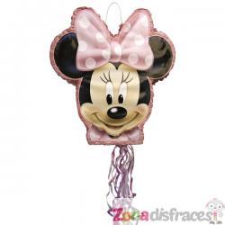 Piñata rosa Minnie Mouse - Imagen 1