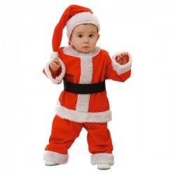Disfraz de Papá Noel infantil y bebé - Imagen 1