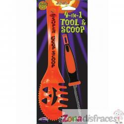Kit de cuchara y sierra para calabazas - Imagen 1