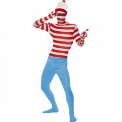 Disfraz de Dónde está Wally segunda piel - Imagen 1