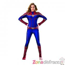 Disfraz de Capitana Marvel classsic para mujer - Imagen 1