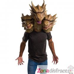 Máscara de Godzilla King Ghidora de látex para adulto - Imagen 1