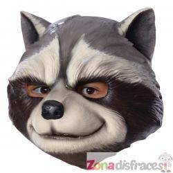 Máscara de Rocket Raccoon de látex para adulto - Los Vengadores - Imagen 1