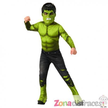 Disfraz de Hulk deluxe pantalón roto para niño - Los Vengadores - Imagen 1