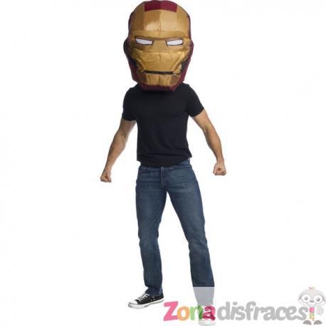 Máscara de Iron Man hinchable para hombre - Imagen 1