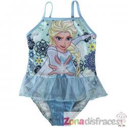 Bañador de Elsa azul para niña - Frozen - Imagen 1