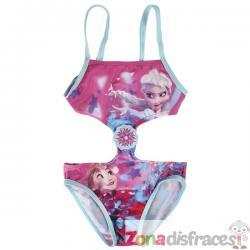 Trikini de Anna y Elsa para niña - Frozen - Imagen 1