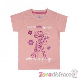 Camiseta de Elsa para niña - Frozen - Imagen 1