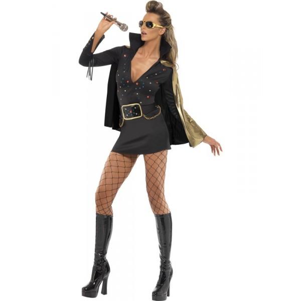 Disfraces de mujer con vestido negro
