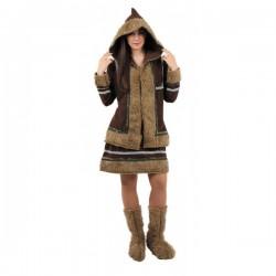 Disfraz de esquimal mujer - Imagen 1
