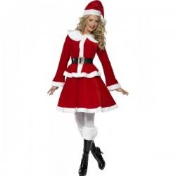 Disfraz de Miss Santa sexy deluxe - Imagen 1