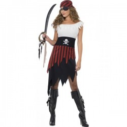 Disfraz de moza pirata - Imagen 1