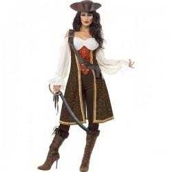 Disfraz de moza pirata de alta mar - Imagen 1