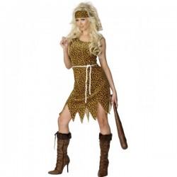 Disfraz de mujer cavernícola - Imagen 1