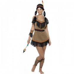 Disfraz de mujer india sexy - Imagen 1