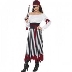 Disfraz de pirata guerrera - Imagen 1