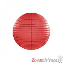 Farolillo rojo de papel de 35 cm - Imagen 1