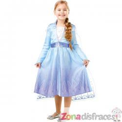 Disfraz de Elsa Frozen 2 para niña - Imagen 1