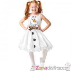 Disfraz de Olaf para niña - Frozen 2 - Imagen 1