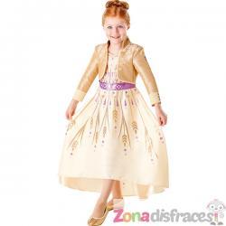 Disfraz de Anna dorado para niña - Frozen 2 - Imagen 1