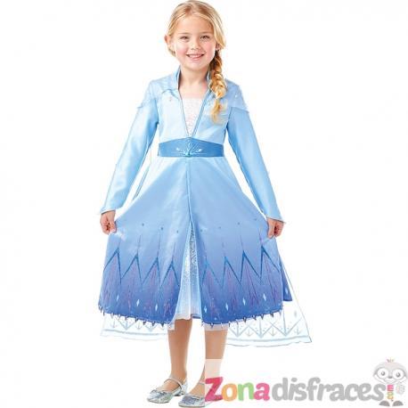 Disfraz de Elsa Frozen Premium para niña - Frozen 2 - Imagen 1
