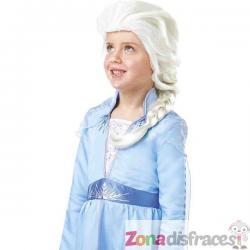 Peluca de Elsa Frozen 2 para niña - Imagen 1