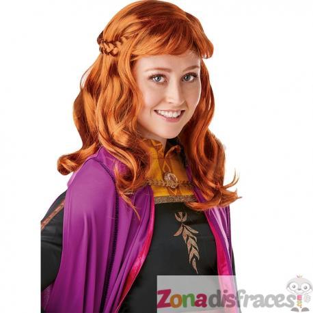 Peluca de Anna Frozen 2 para mujer - Imagen 1