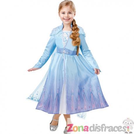 Disfraz de Elsa Frozen 2 deluxe para niña - Imagen 1