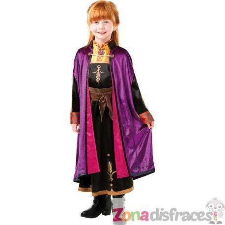 Disfraz de Anna Frozen 2 deluxe para niña - Imagen 1
