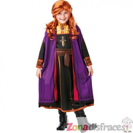 Disfraz de Anna Frozen para niña en caja - Frozen 2 - Imagen 1