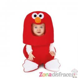 Disfraz de Elmo Barrio Sésamo balloon para bebé - Imagen 1