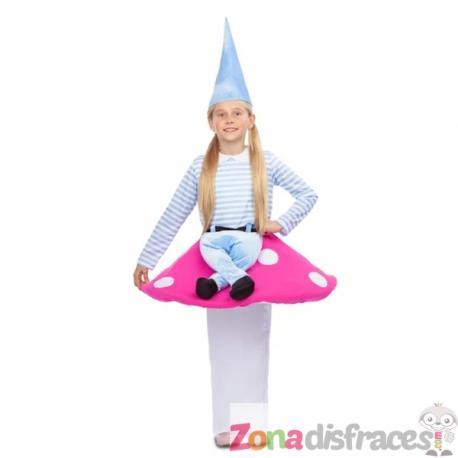Disfraz de gnomo Ride On para niña - Imagen 1
