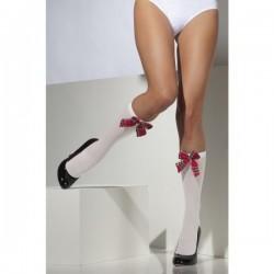 Calcetines hasta la rodilla de colegiala - Imagen 1