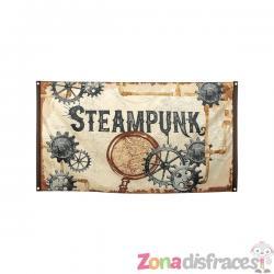 Bandera Steampunk marrón - Steampunk Collection - Imagen 1