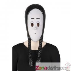 Máscara Miércoles La Familia Addams para niña - Imagen 1