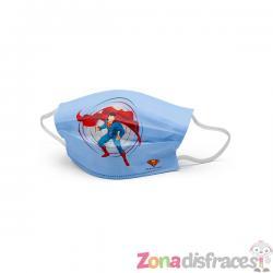 Mascarilla Superman para niño - Imagen 1